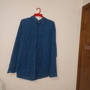 Wrangler Riata mens long sleeve button down shirt